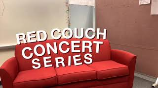 Jake O'Donnell is the first performer in the Red Couch Concert Series