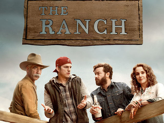 In the Netflix series The Ranch, son Colt Bennett returns to his family home.