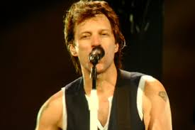 Some artists, including Bon Jovi, have been releasing singles specifically to brighten listeners