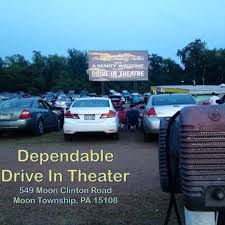 The Dependable Drive-In in Moon Township will open for movies tonight.