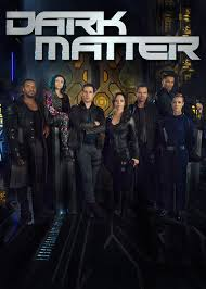 "In the Netflix series ""Dark Matter,"" the crew of a derelict ship wake up with no memory of who they are or how they got onboard the ship."