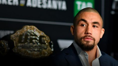 Former UFC middleweight champion Robert Whittaker spoke up about his struggles.