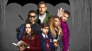 The Netflix series focuses on six adopted siblings who make up The Umbrella Academy, a school and home for the gifted.
