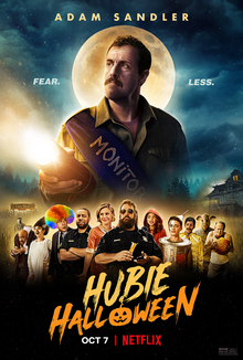 Adam Sandler goes back to comedy with his new film, Hubie Halloween.