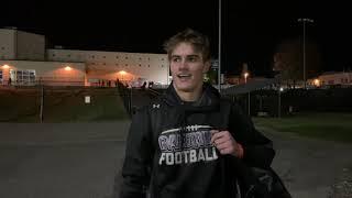 Senior CJ Lucas and the Highlander football team finally got their home debut on Friday night.