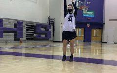 Junior Morgan Altavilla has become a leader on the girls basketball team.