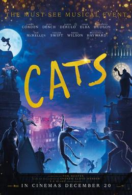 The Hollywood adaptation of the Broadway musical Cats was not well received.