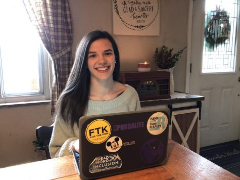 Grace Hampton has been a remote student since school started. Now, all Baldwin students will be remote through December 11.