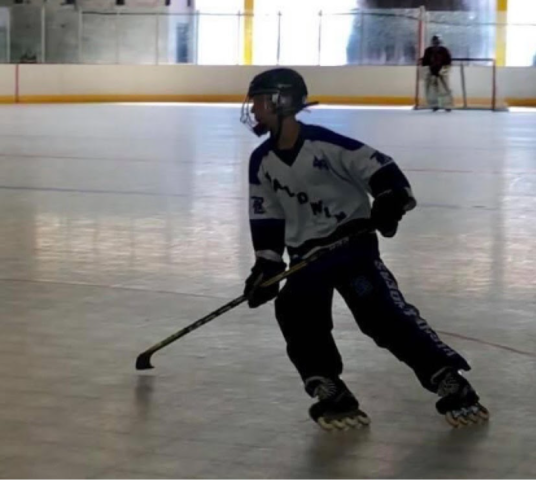 Senior Stevan Winowich looks to bring home a championship during his final inline season.