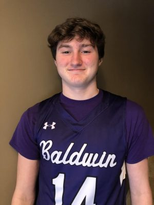 Sophomore James Wesling plans to involve basketball in his future career.