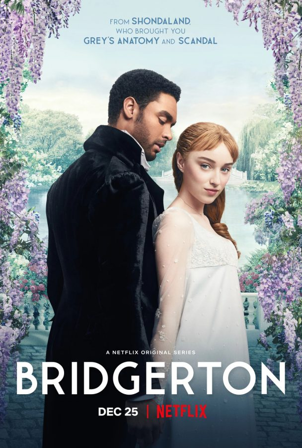 Bridgerton is based on the famous series of romance novels by Julia Quinn.