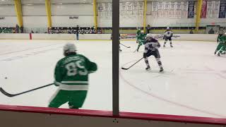 The ice hockey team defeated South Fayette on Monday night in the senior recognition game.
