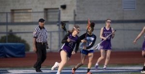 Brooke Shannon plays in a 2019 game for the girls lacrosse team. Photo contributed by Brooke Shannon