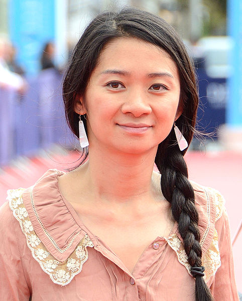 Chloé Zhao, (pictured above) won best directing for Nomadland at this years Oscars.