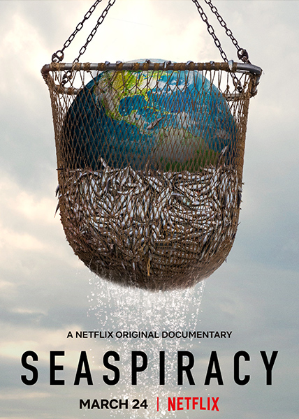 The documentary discusses the even greater effect that commercial fishing has on the ocean.