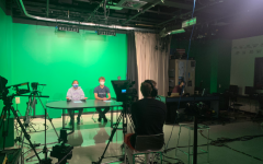 The Morning Announcements are being overseen by Baldwin's new tech ed teacher, and he has big plans for the daily broadcast.