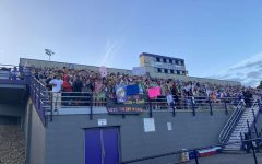 On Friday, the first football game of the 2021 season took place. The student section theme was Hawaiian.