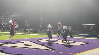 Video: Football team falls to North Allegheny