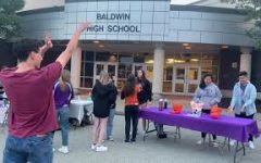 The homecoming carnival included games and food trucks.